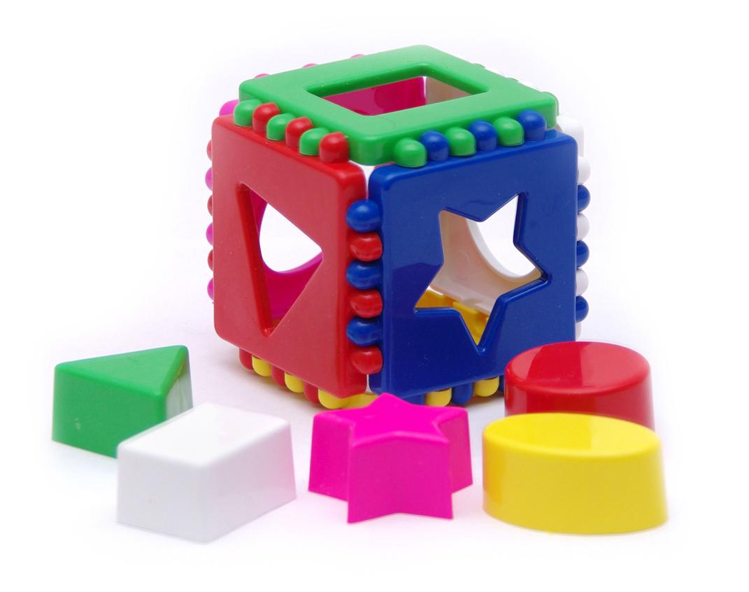 Логический кубик для детей своими руками