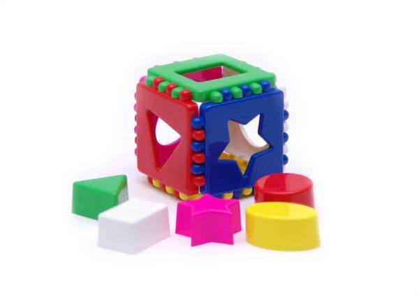 Кубик логический малый