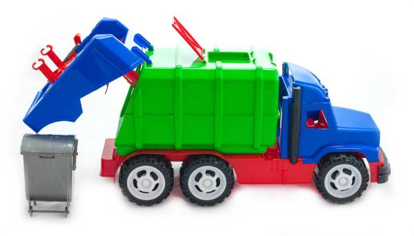 """Детский автомобиль """"Профи"""" мусоровоз"""