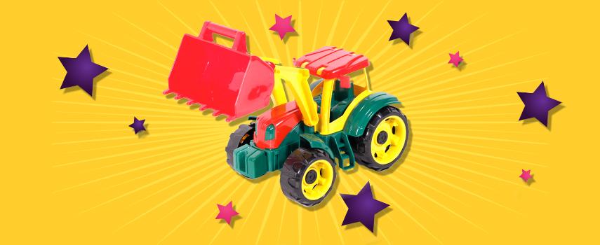 игрушка детская трактор